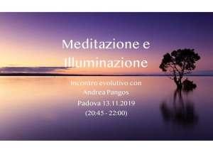 Meditazione e Iluminazione padova 13.11.19